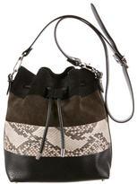 Proenza Schouler Medium Python Bucket Bag