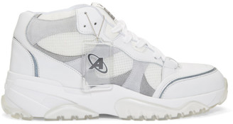 Axel Arigato SSENSE Exclusive White Catfish High Top Sneakers