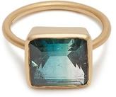 Irene Neuwirth Tourmaline & rose-gold ring