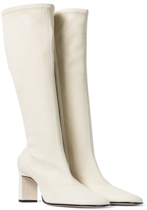 Wandler Exclusive to Mytheresa Lesley leather knee-high boots
