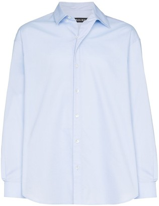 Y/Project lapel-detail shirt