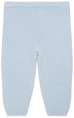 Ralph Lauren Kids Knitted Cotton Knee-Patch Leggings (3-24 months)