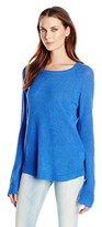 MinkPink Women's Blue Belle Knit Sweater