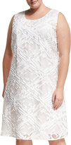Lafayette 148 New York Palmer Sleeveless A-Line Dress, Plus Size