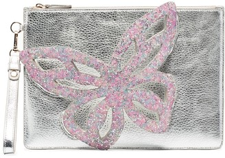 Sophia Webster Flossy Butterfly Clutch Bag