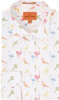 Simon Carter Bird Print Shirt