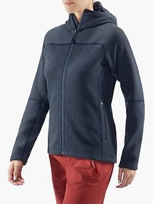 Haglöfs Swook Hood Women's Fleece Jacket, Dense Blue