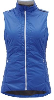 Falke Zip-up Technical Shell Gilet - Womens - Blue