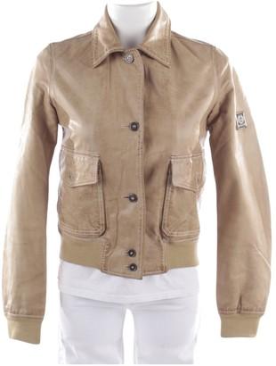 Belstaff \N Beige Leather Jackets