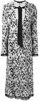 Proenza Schouler longsleeved jacquard dress - women - Cotton/Polyamide/Polyester/Viscose - S