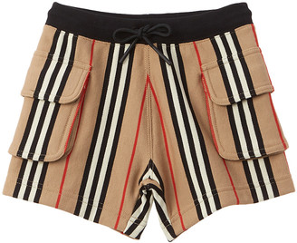 Burberry Icon Stripe Drawcord Short