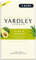 Yardley of London Naturally Moisturizing Bath Bar Aloe & Avocado