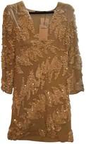 Antik Batik Beige Dress for Women