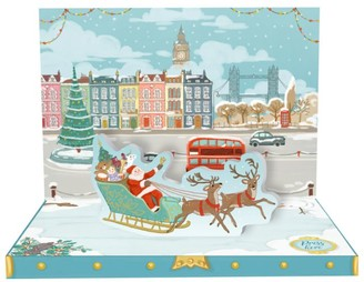 Music Box Cards Musical London Christmas Card