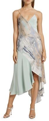 Cushnie Asymmetrical Slip Dress