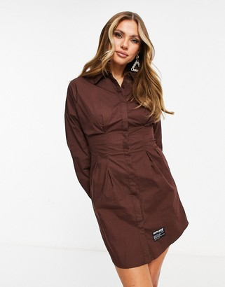 Sixth June long sleeve mini shirt dress