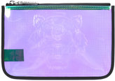 Kenzo transparent clutch bag