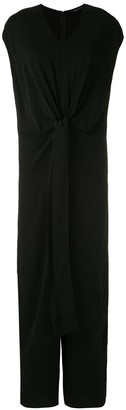 Galax wrap tailored jumpsuit