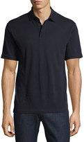 Zegna Sport Techmerino Wool Polo Shirt, Dark Blue