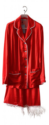 Sleeper Red Synthetic Jumpsuits
