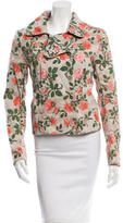 Alexandre Herchcovitch Double-Breasted Floral Print Jacket