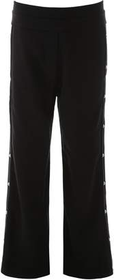 Balmain Button Embellished Wide-Leg Trousers