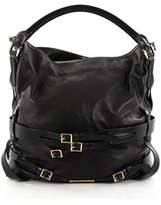 Burberry Pre-owned: Bridle Gosford Hobo Leather Medium.