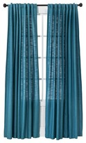 Threshold Natural Core Solid Curtain Panel