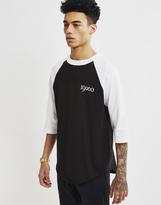 The Hundreds Endless Raglan T-Shirt Black