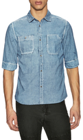 Rogue Patch Pocket Denim Sportshirt