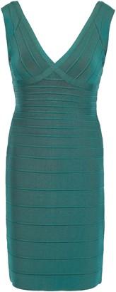 Herve Leger Karima Open-back Bandage Mini Dress
