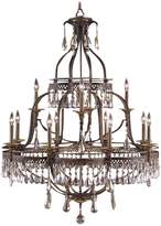 John-Richard Collection John Richard Augustine 12-Light Chandelier
