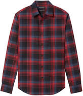 Banana Republic Camden Standard-Fit Plaid Flannel Shirt