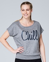 Slouch Slogan Sweat