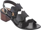 Marc Fisher Block Heel Back Strap Sandals - Omalla