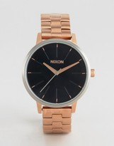 Nixon Rose Gold Kensington Watch