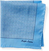 Ralph Lauren Square Silk Pocket Square