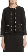 Kate Spade Women's Studded Suede Jacket