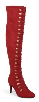 Journee Collection Trill Wide Calf Thigh High Boot
