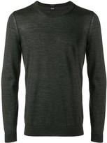 BOSS lightweight knitted jumper