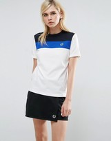 Fred Perry Archive Color Block T Shirt