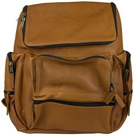 Latico Leathers Explorer Laptop Backpack , 100% Genuine Authentic Luxury Leather, Designer Backpack, Top Quality Leather