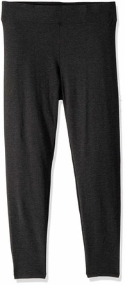 Hue Women's Plus Size Cotton Ultra Legging with Wide Waistband Assorted