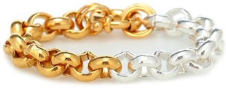 Timeless Pearly 24kt Gold-Plated Sterling Silver Chain Bracelet