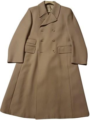 Gucci Camel Wool Coats