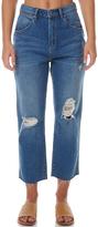 Wrangler Hi Birkin Womens Cropped Jean Blue