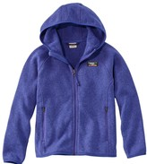 L.L. Bean Kids' L.L.Bean Sweater Fleece, Hooded