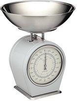 Kitchen Craft Living Nostalgia Mechanical Kitchen Scales, 4 kg (8 lbs) - French Grey
