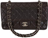 One Kings Lane Vintage Chanel Brown Caviar Classic Double Flap