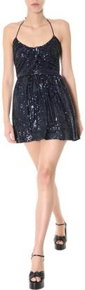 Saint Laurent Draped Mini Dress